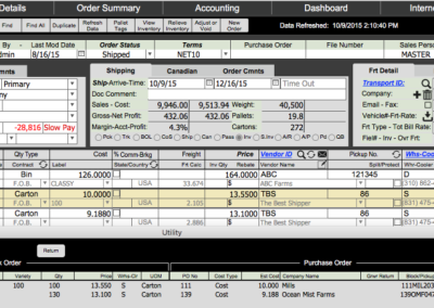 Having access to any type of order on one screen will help you to process any order fast with a minimum effort.